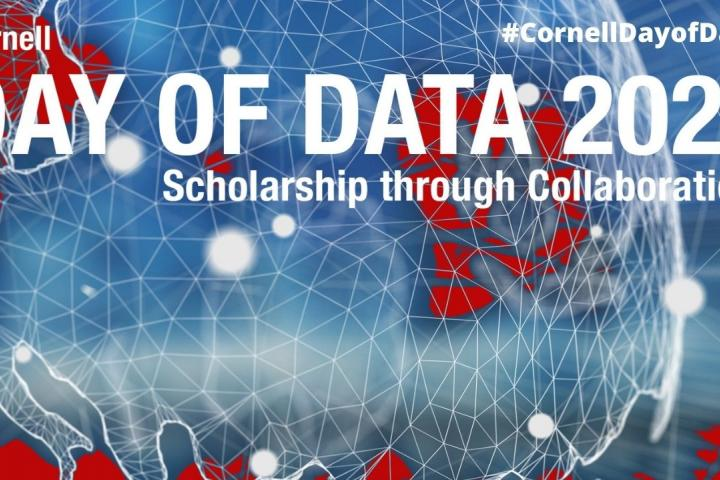Cornell Day of Data 2021: Scholarships through Collaboration banner