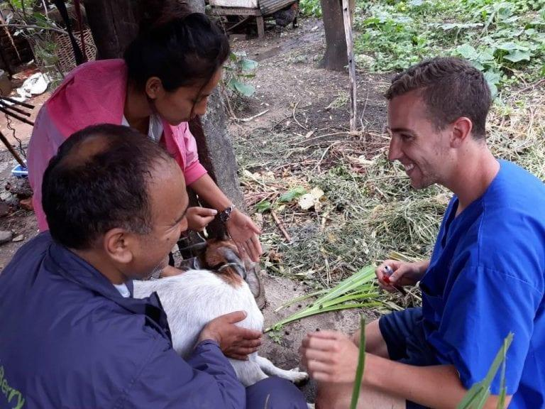 Daniel Foley in Nepal